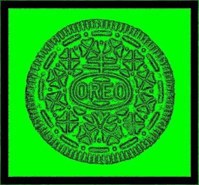 Photograph - Oreo Redux Green 2 by Rob Hans