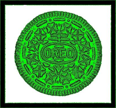 Photograph - Oreo Redux Green 3 by Rob Hans