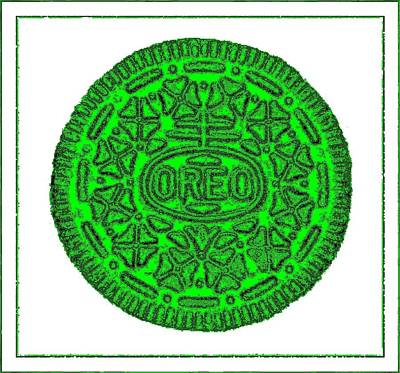 Photograph - Oreo Redux Green 4 by Rob Hans