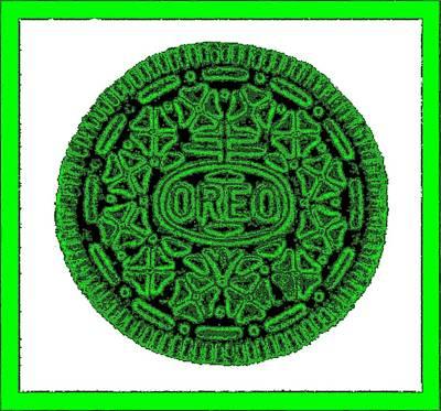 Photograph - Oreo Redux Green 5 by Rob Hans