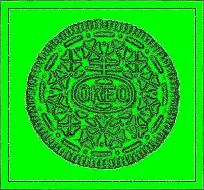 Photograph - Oreo Redux Green 6 by Rob Hans