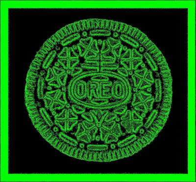 Photograph - Oreo Redux Green by Rob Hans
