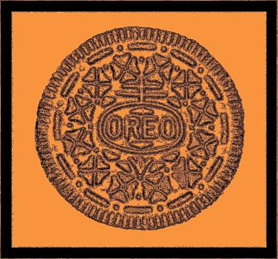 Photograph - Oreo Redux Orange 2 by Rob Hans