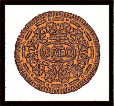 Photograph - Oreo Redux Orange 3 by Rob Hans