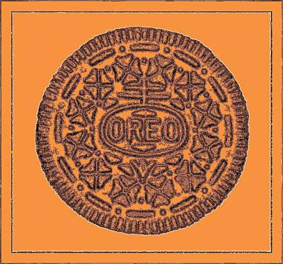 Photograph - Oreo Redux Orange 6 by Rob Hans