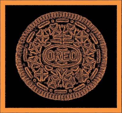 Photograph - Oreo Redux Orange  by Rob Hans