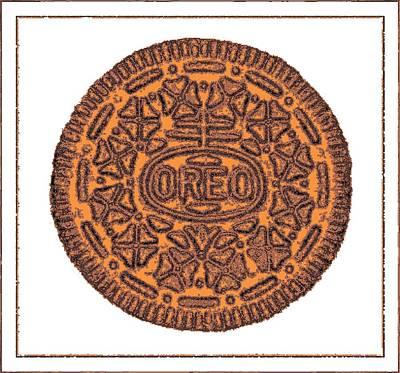 Photograph - Oreo Redux Orange4 by Rob Hans