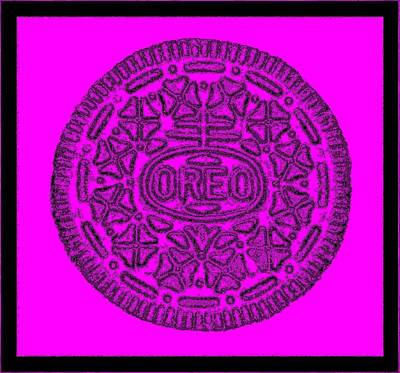 Photograph - Oreo Redux Purple 2 by Rob Hans