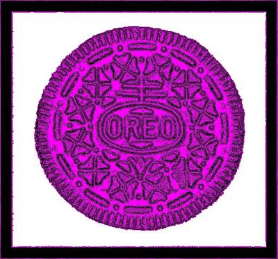 Photograph - Oreo Redux Purple 3 by Rob Hans