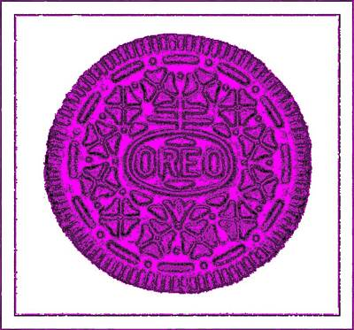 Photograph - Oreo Redux Purple 4 by Rob Hans
