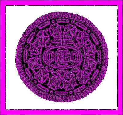 Photograph - Oreo Redux Purple 5 by Rob Hans