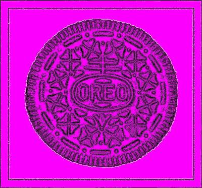 Photograph - Oreo Redux Purple 6 by Rob Hans