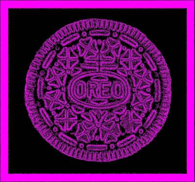 Photograph - Oreo Redux Purple  by Rob Hans