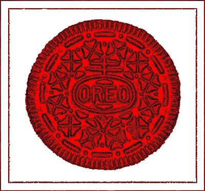 Photograph - Oreo Redux Red 4 by Rob Hans