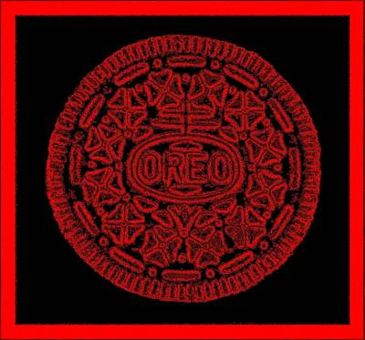 Photograph - Oreo Redux Red by Rob Hans