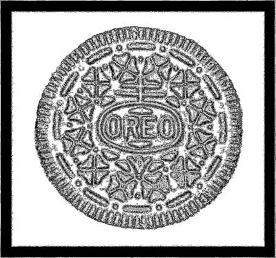 Photograph - Oreo Redux White 1 by Rob Hans