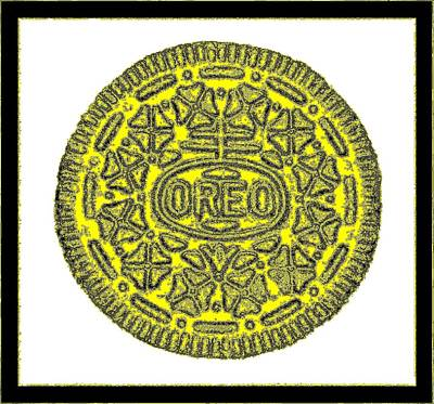 Photograph - Oreo Redux Yellow 3 by Rob Hans
