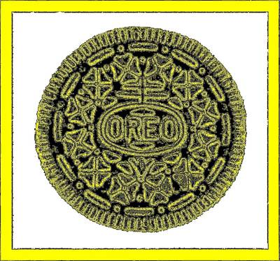 Photograph - Oreo Redux Yellow 5 by Rob Hans