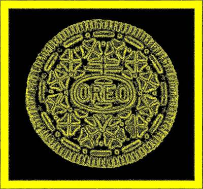 Photograph - Oreo Redux Yellow by Rob Hans