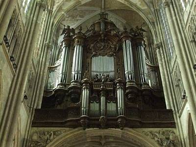 Photograph - Organ by JLowPhotos