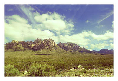 Photograph - Organ Mountains New Mexico by Jack Pumphrey