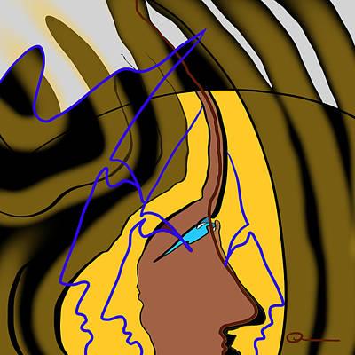 Digital Art - Organic 5 by Jeff Quiros