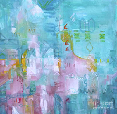 Wall Art - Painting - Orient I by Marcela Levinska