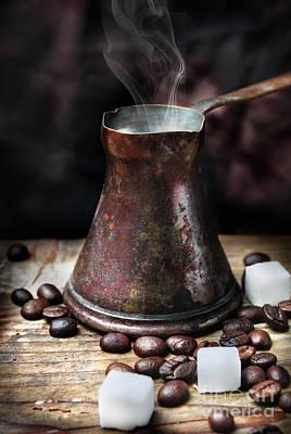 Photograph - Oriental Coffee Pot by Jelena Jovanovic