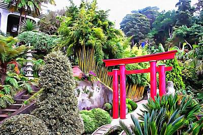 Photograph - Oriental Garden Madeira 2 by Dorothy Berry-Lound
