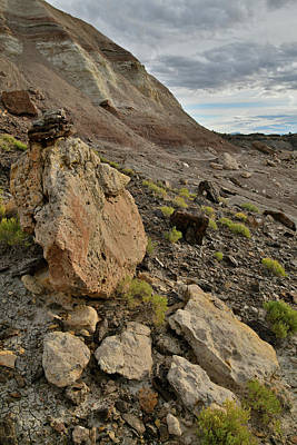 Photograph - Ornate Boulders Of Ruby Mountain In Grand Junction Co by Ray Mathis