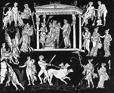 Orpheus And Eurydice Art Print by Hulton Archive