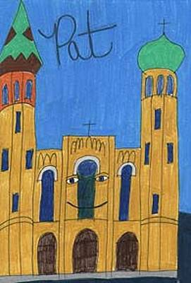 Drawing - Orthodox Pat by Barb Moran
