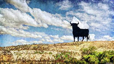 Photograph - Osborne Bull - Vintage by Weston Westmoreland