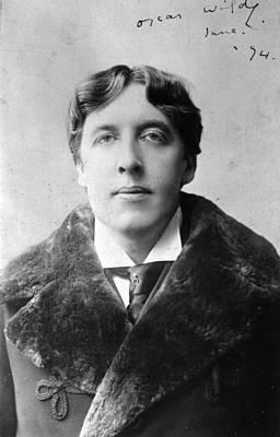 Oscar Wilde Art Print by Alfred Ellis & Walery