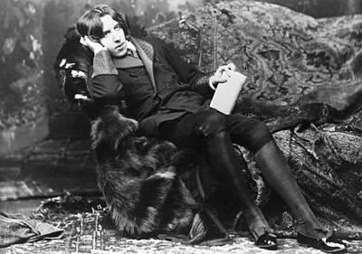 Photograph - Oscar Wilde Lounging by Bettmann