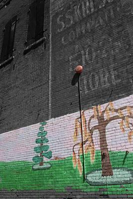 Photograph - Oskaloosa Facade by Dylan Punke