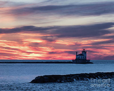 Photograph - Oswego Light by Phil Spitze