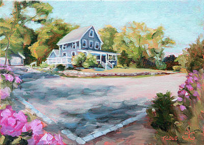 Painting - Our Haven In May by Trina Teele