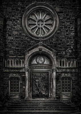 Art Print featuring the photograph Our Lady Of Sorrows by Brian Carson