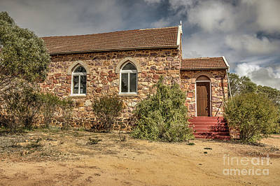 Photograph - Our Lady Queen Of Peace, Yuna, Western Australia by Elaine Teague