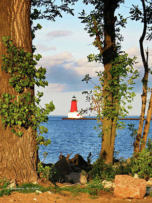 Photograph - Our Shining Lighthouse by Ms Judi
