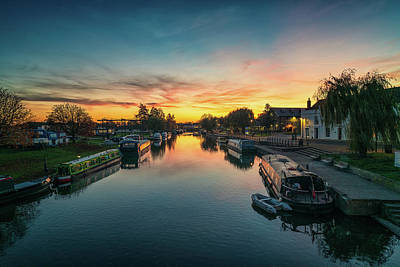 Photograph - Ouse Sunset by James Billings