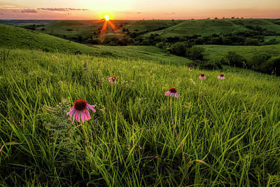 Photograph - Out In The Flint Hills by Scott Bean