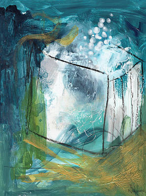 Painting - Out of the Box by Nikol Wikman