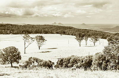 A White Christmas Cityscape - Outback and beyond by Jorgo Photography - Wall Art Gallery