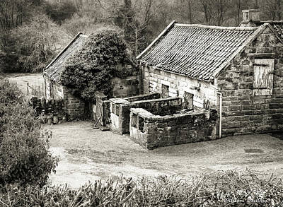 Photograph - Outbuildings by William Beuther