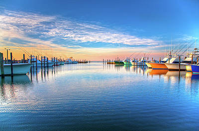 Photograph - Outer Banks Fishing Boats At Oregon Inlet by Dan Carmichael