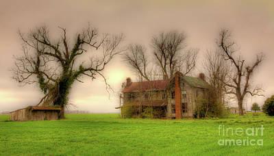 Photograph - Outer Banks Spooky House by Dan Carmichael
