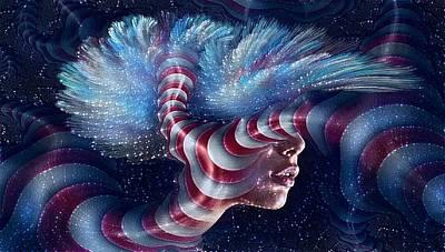 Surrealism Digital Art - Outer Limits by Teresa Trotter