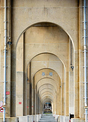 Wall Art - Photograph - Outerbridge Arches by Steven Richman